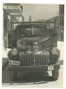 sal riera camion Agosto 1958
